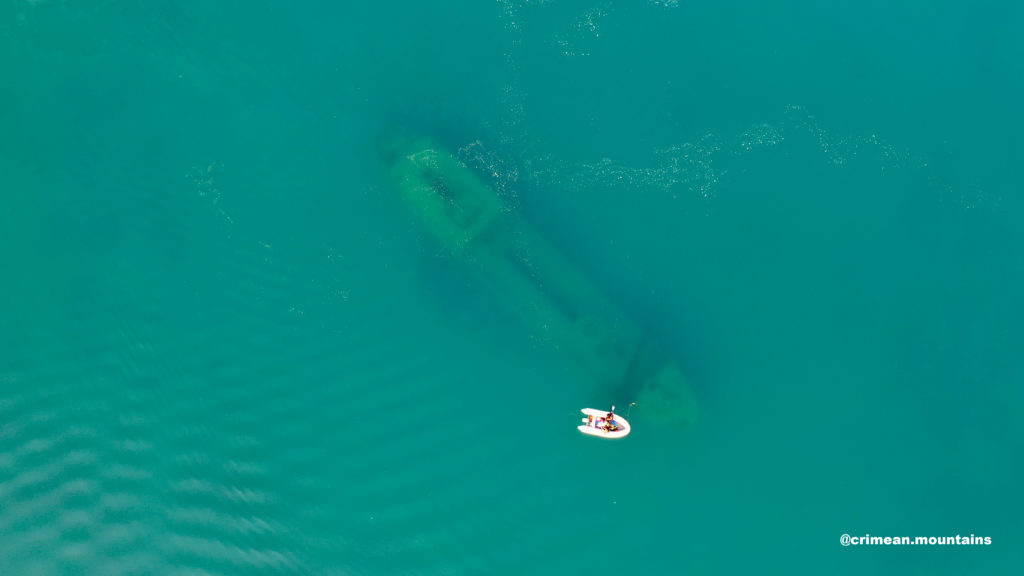Дайвинг на торпедный катер на Меганоме